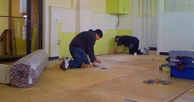 Fixing Splintered Plywood