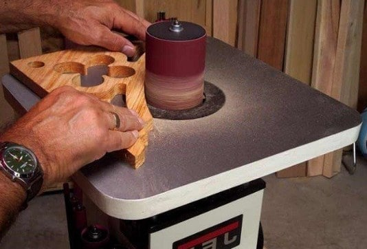 Oscillating Spindle Sander example