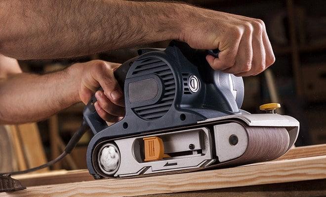 belt sander example