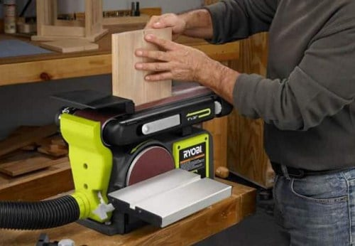 table sander example