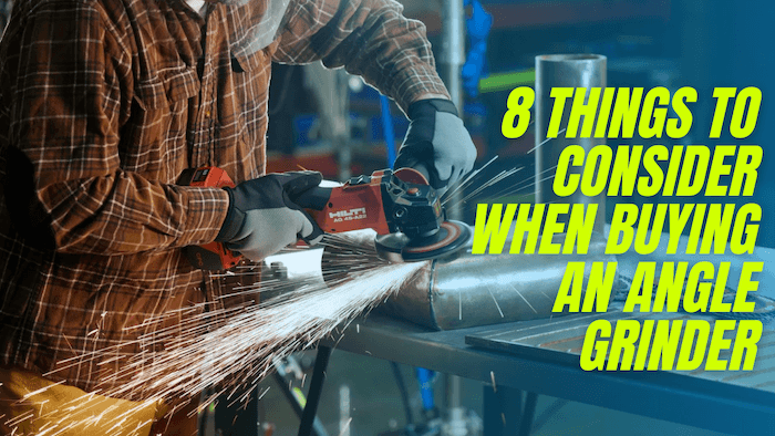 buying an angle grinder