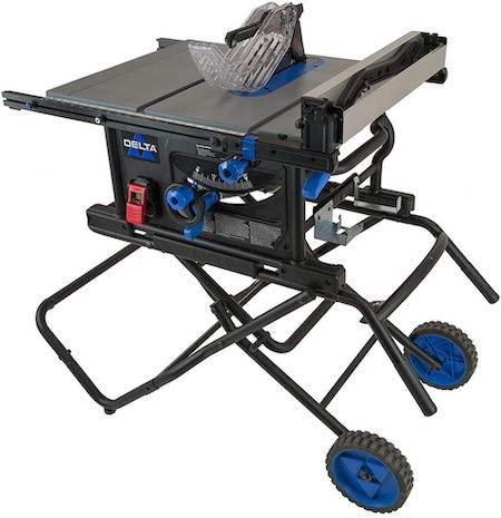Delta 36-6023 portable table saw