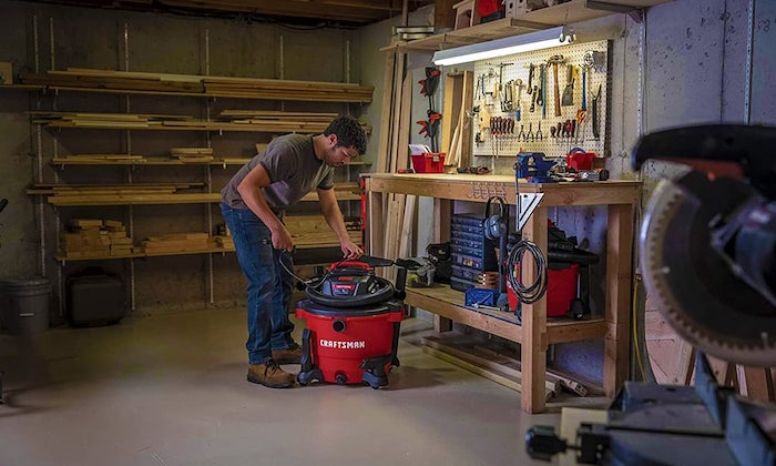 choosing a shop vac for woodworking